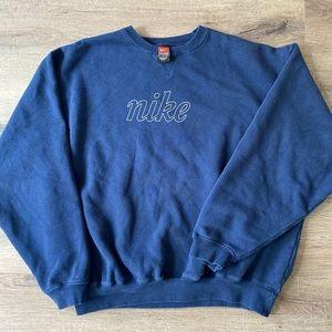 Vintage Nike script crew neck.